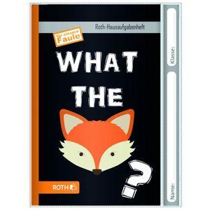 Hausaufgabenheft - Fuchs - DIN A5