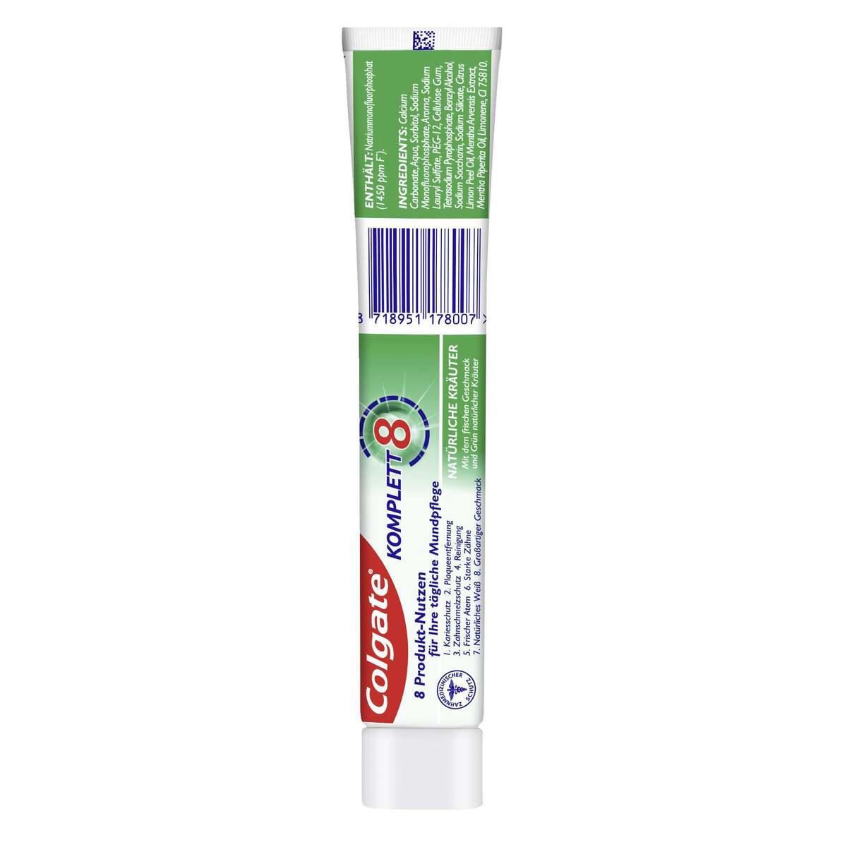 Bild 2 von Colgate natürliche Kräuter Zahnpasta
