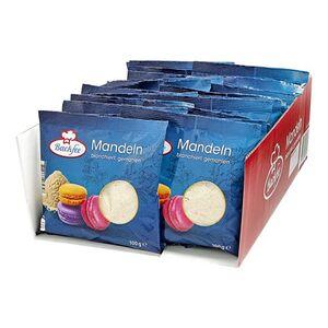 Backfee Mandeln gemahlen, blanchiert 100 g, 25er Pack