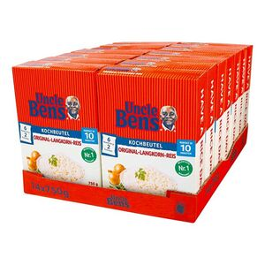 Uncle Bens Langkornreis 750 g, 14er Pack