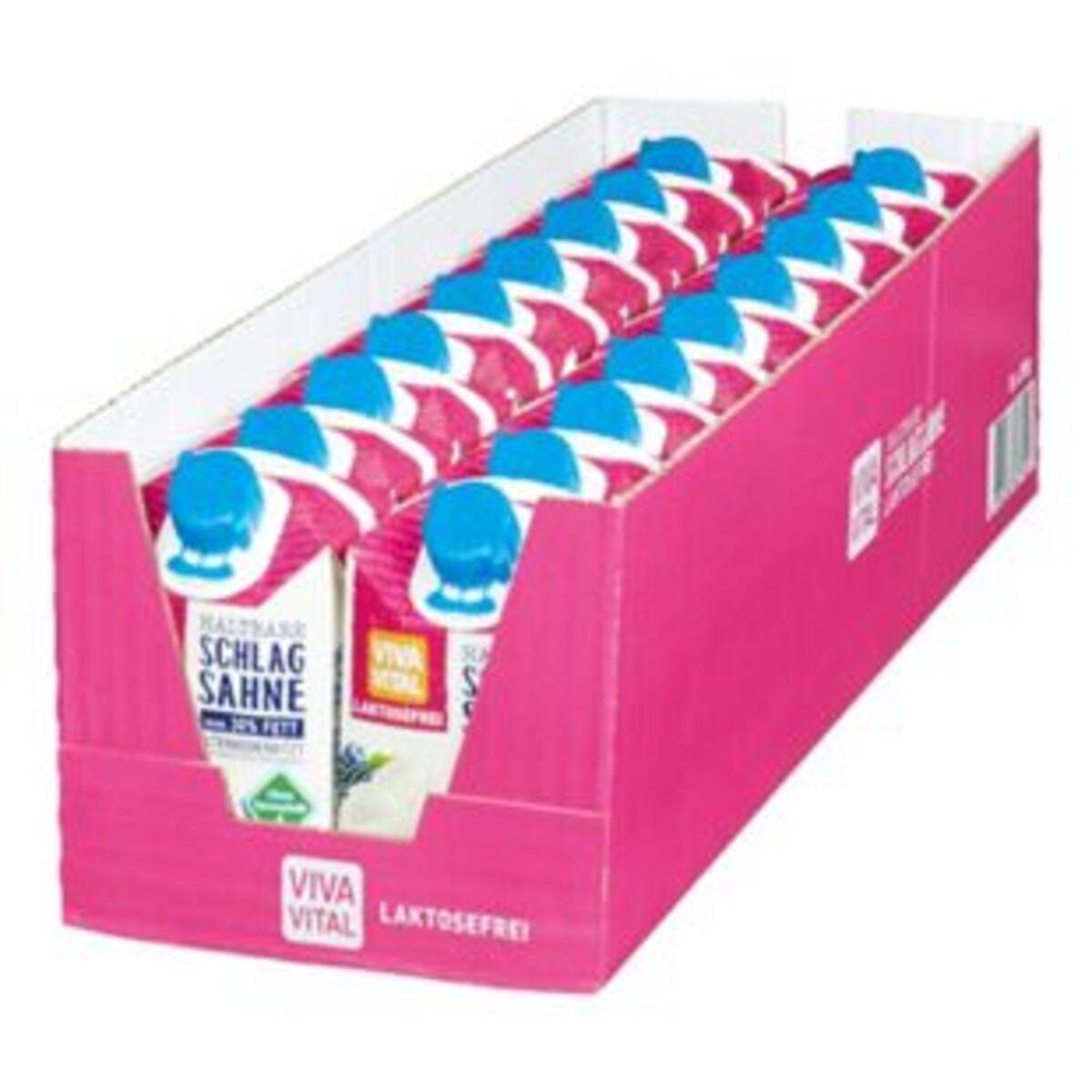Bild 2 von Viva Vital Laktosefreie H-Schlagsahne 30% Fett 200 g, 18er Pack