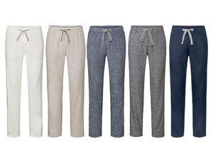 LIVERGY® Hose Herren, luftige Qualität, mit Bindeband, aus Leinen und Baumwolle