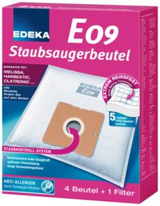 EDEKA Staubsaugerbeutel E09 4 Stück
