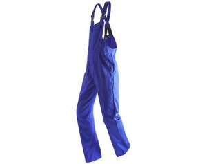 Herren-Arbeits-Latzhose royalblau Größe 48