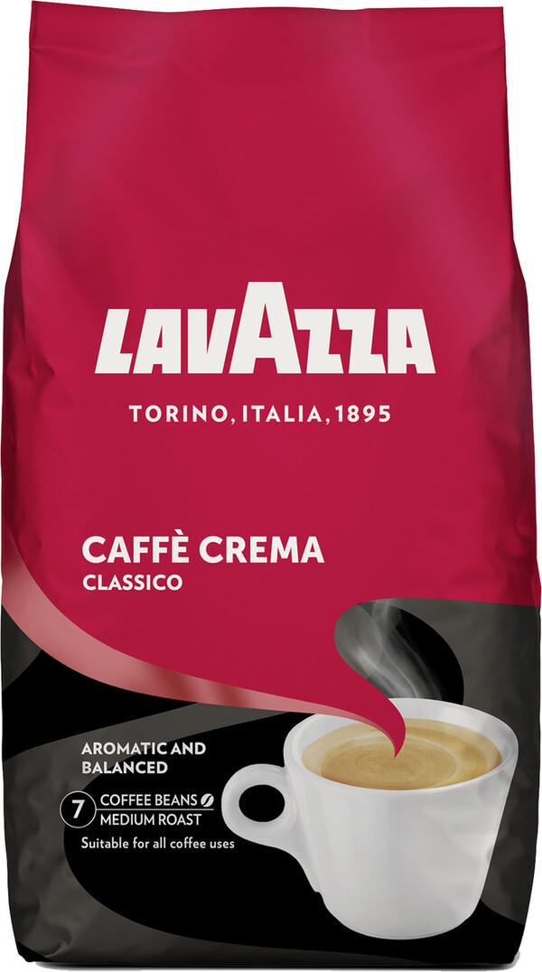 Lavazza Caffe Crema Classico ganze Bohne 1 kg