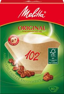 Melitta Kaffeefilter 102 Original braun 80 Stück