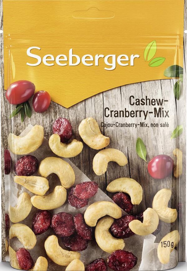 Seeberger Cashew-Cranberry-Mix 150 g