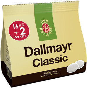 Dallmayr Kaffeepads Classic 18x 6,88 g