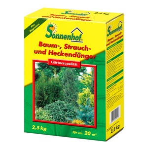 Dünger für Bäume, Sträucher und Hecken 2,5 kg