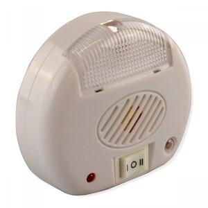Nachtlicht mit Insektenabwehr 230V Ultraschall weiß Mückenschutz Insektenfalle