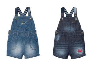 LUPILU® Baby Latzhose Jungen, elastische Träger, sietliche Knöpfung, reine Baumwolle