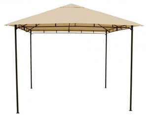 Grasekamp Pavillon Rimini Flex ca. 3 x 3 m beige