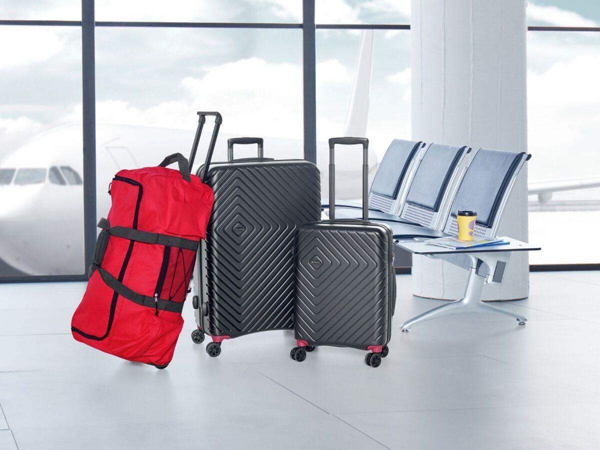 Bild 9 von TOPMOVE® Koffer, 90 l, aus Polycarbonat, 4 Komfort-Zwillingsrollen (360°), sehr leicht