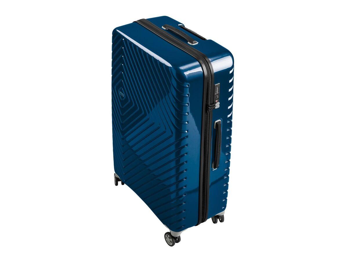 Bild 2 von TOPMOVE® Koffer, 90 l, aus Polycarbonat, 4 Komfort-Zwillingsrollen (360°), sehr leicht