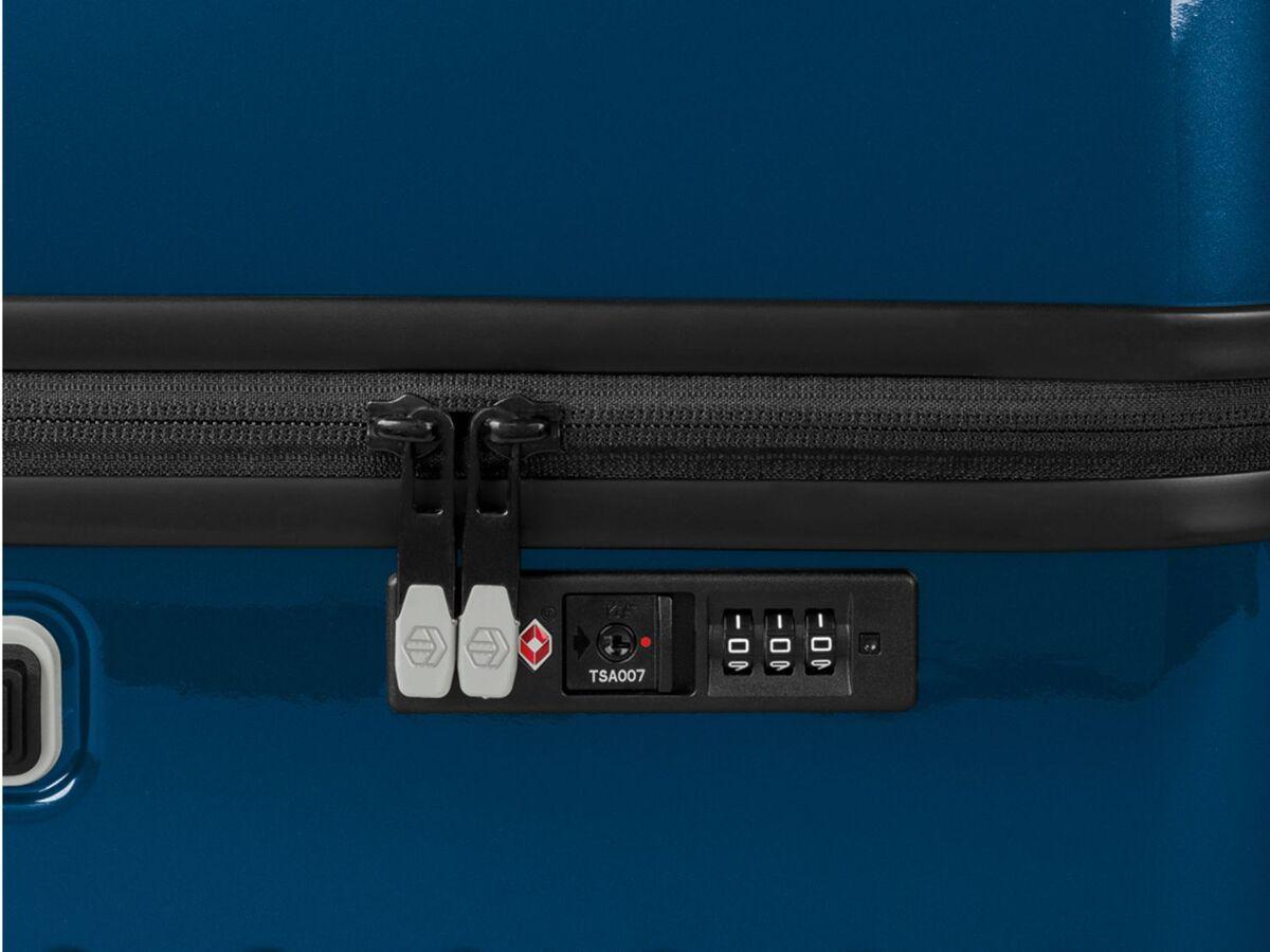 Bild 7 von TOPMOVE® Koffer, 90 l, aus Polycarbonat, 4 Komfort-Zwillingsrollen (360°), sehr leicht