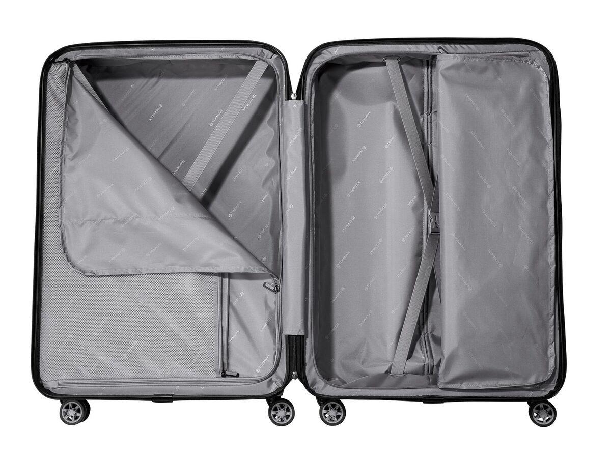 Bild 8 von TOPMOVE® Koffer, 90 l, aus Polycarbonat, 4 Komfort-Zwillingsrollen (360°), sehr leicht