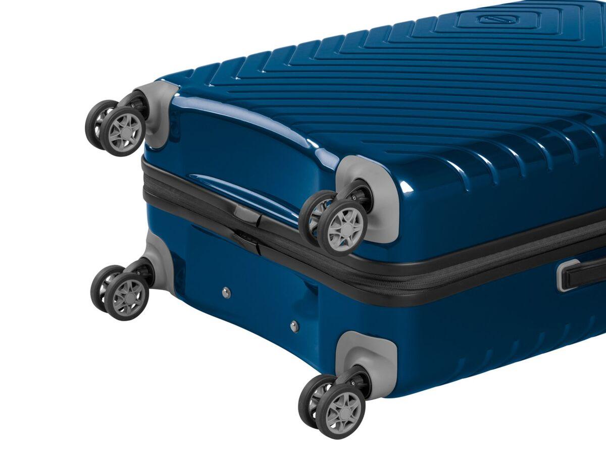 Bild 4 von TOPMOVE® Handgepäckkoffer, 72 L Fassungsvermögen, mit 4 Rollen, Polycarbonat-Schalen