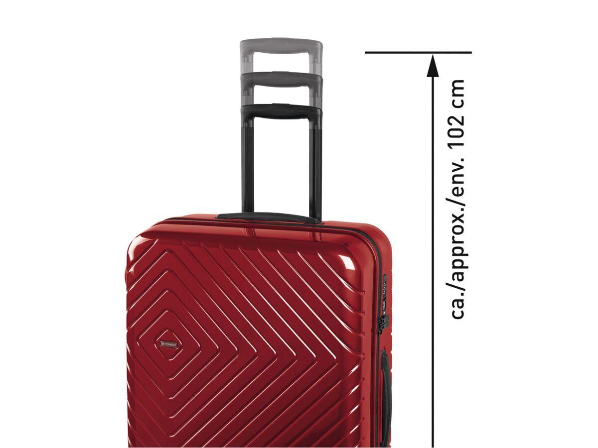Bild 3 von TOPMOVE® Handgepäckkoffer, 72 L Fassungsvermögen, mit 4 Rollen, Polycarbonat-Schalen