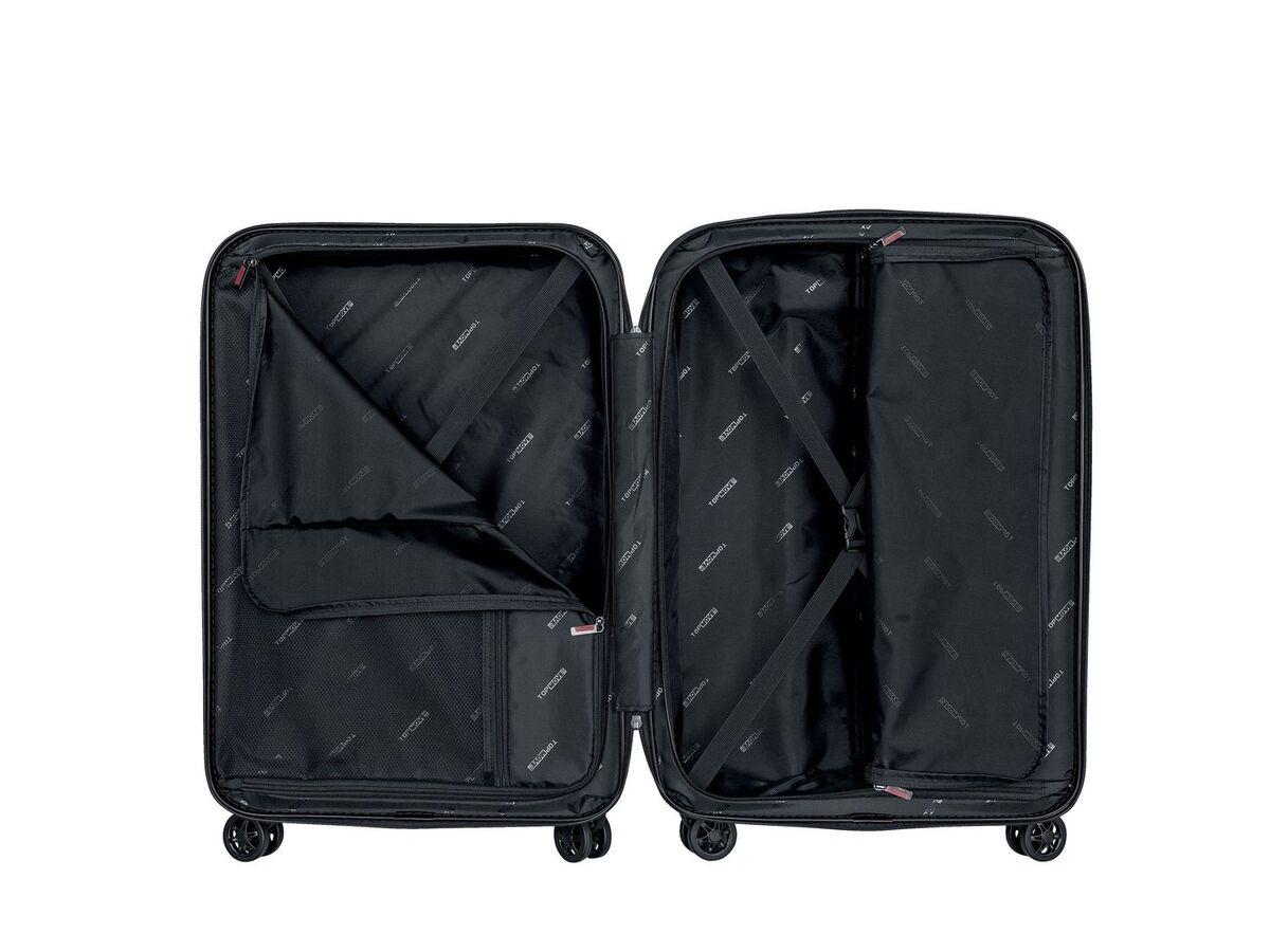 Bild 3 von TOPMOVE® Koffer, 61 l Volumen, 4 Rollen, mit Zahlenschloss, schwarz