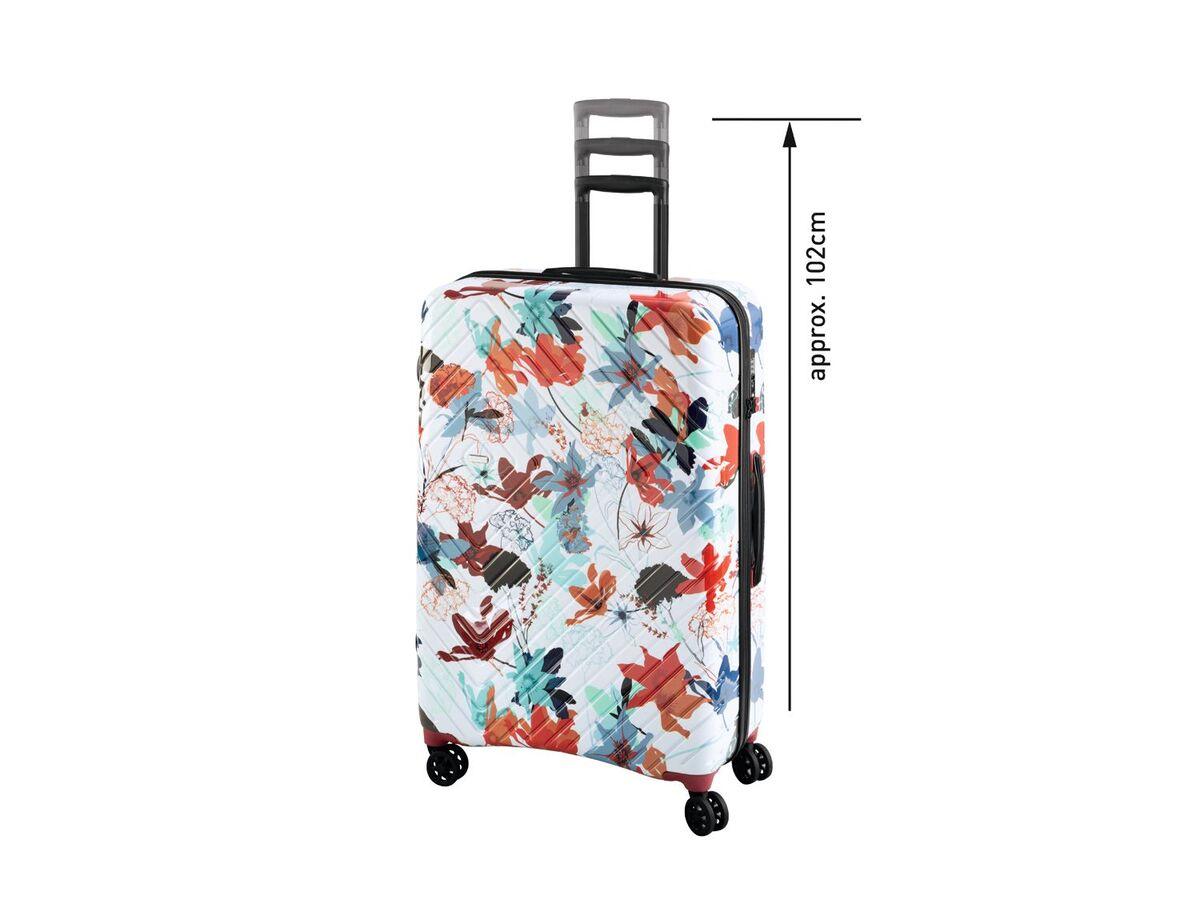 Bild 4 von TOPMOVE® Koffer, 90 l, aus Polycarbonat, 4 Komfort-Zwillingsrollen (360°), sehr leicht