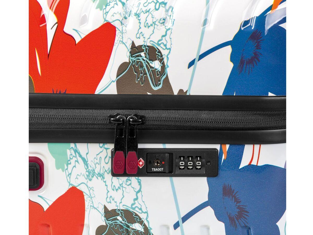 Bild 6 von TOPMOVE® Koffer, 90 l, aus Polycarbonat, 4 Komfort-Zwillingsrollen (360°), sehr leicht