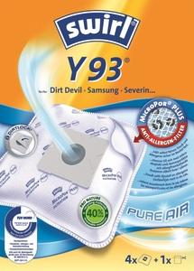 Swirl Staubsaugerbeutel Y93 MicroPor Plus Pure Air 4 Stück