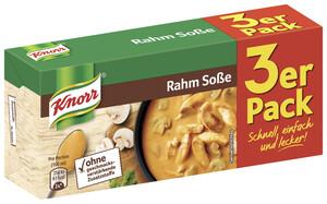 Knorr Rahm Soße 3x 34 g