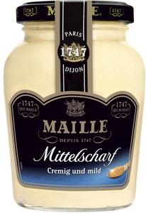 Maille Senf mittelscharf cremig und mild 200 ml