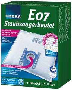 EDEKA Staubsaugerbeutel E07 4 Stück