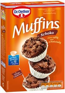 Dr.Oetker Backmischung Muffins Schoko 335 g