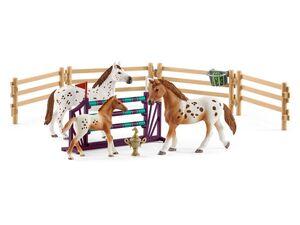 Schleich Horse Club 42433 »Horse Club Lisas Turnier-Training«, 3 Figuren, ab 5 Jahren