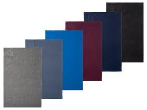 CRIVIT® Sporthandtuch, mit integrierter Reßverschlusstasche, 130 x 80 cm, aus Polyester