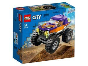 LEGO® City Monster-Truck »60251«, 55 Teile, mit grobstolligen Reifen, ab 5 Jahren