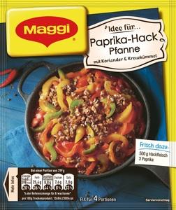 Maggi Idee für Paprika-Hack Pfanne 44 g
