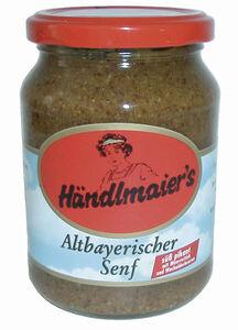 Händlmaier altbayerischer Senf im Glas 335 ml
