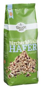 Bauckhof Bio glutenfreies Bircher Müsli Hafer ungesüßt 450 g