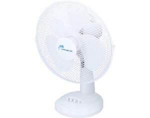 Tischventilator 871125217256 D. 30 cm weiß