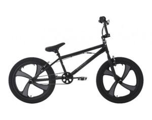 KS Cycling BMX Freestyle 20'' Rise Mag Wheel schwarz-grau