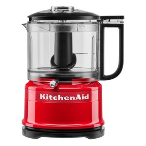 KitchenAid 5KFC3516HESD Mini Food Processor rot