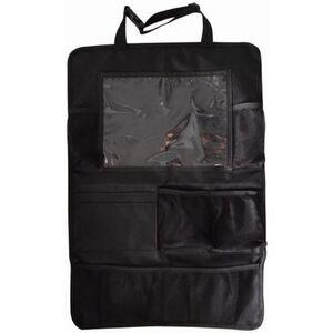 Rückenlehnentasche mit Tablet-Fach - schwarz