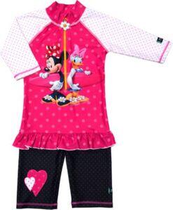 Schwimmanzug Minnie mit UV-Schutz  pink Gr. 98/104 Mädchen Kleinkinder