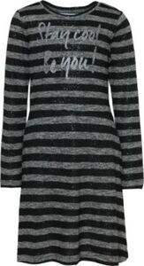 Kinder Jerseykleid schwarz Gr. 164 Mädchen Kinder