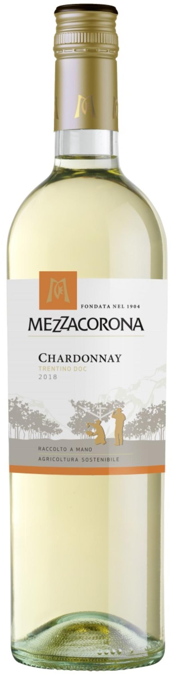 Mezzacorona Chardonnay DOC Weißwein 2019 0,75 ltr