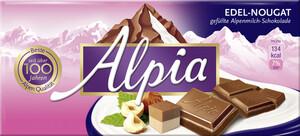Alpia Edel Nougat Schokolade 100 g