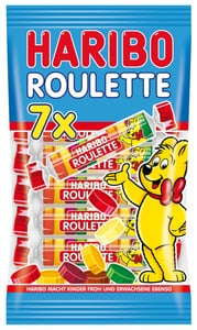 Haribo Roulette 7 Rollen 175 g
