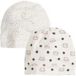 COOL CLUB Baby Mütze 2er Pack für Mädchen 48/50