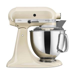 KitchenAid Küchenmaschine Artisan 4,8l, Creme 8tlg.