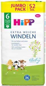 HiPP Babysanft extra weiche Jumbo Pack Windeln Größe 6