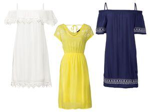 ESMARA® Kleid Damen, mit Viskose und Baumwolle