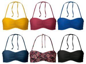 ESMARA® Bikinioberteil Damen, kombinierbar, abnehmbare Träger, gemouldete Cups